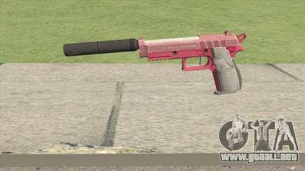 Hawk And Little Pistol GTA V (Pink) V6 para GTA San Andreas