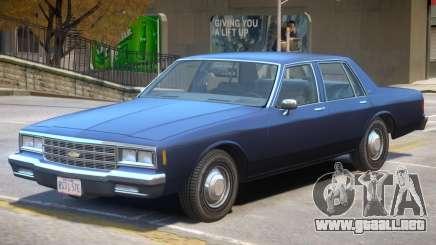 1985 Chevrolet Impala para GTA 4
