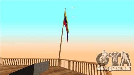 Venezuela bandera en el monte čilliad para GTA San Andreas