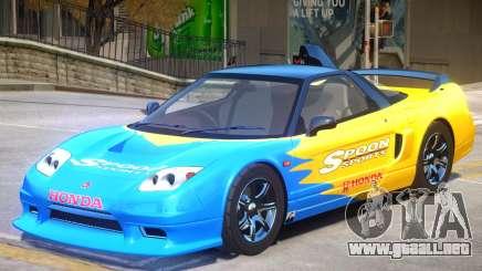 Honda NSX-R GT V1 PJ para GTA 4