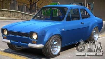 Ford Escort V1.1 para GTA 4