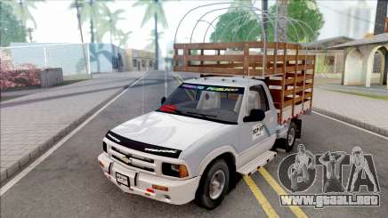 Chevrolet S10 Con Estacas para GTA San Andreas