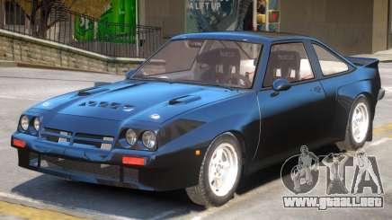 Opel Manta Road Version para GTA 4