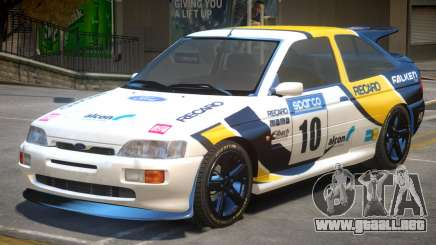 Ford Escort RS PJ4 para GTA 4