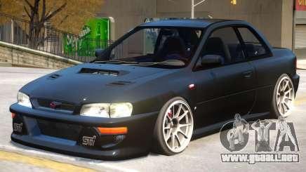 Subaru Impreza V2.1 para GTA 4