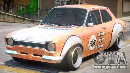 Ford Escort Rust Rod para GTA 4