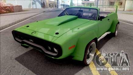 Plymouth GTX 1972 Cabrio Custom para GTA San Andreas