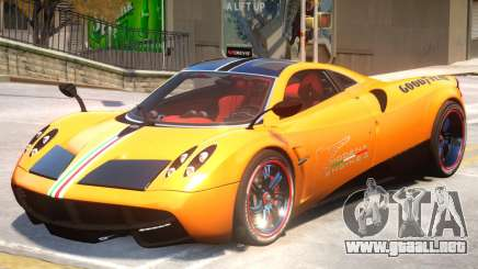 Pagani Huyara V1 PJ1 para GTA 4