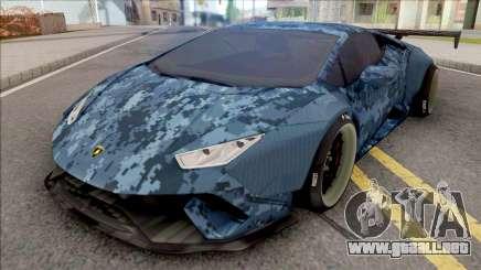 Lamborghini Huracan Performante Blue para GTA San Andreas