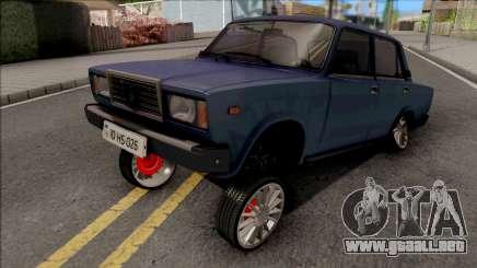 2107 Hiko026 Estilo para GTA San Andreas