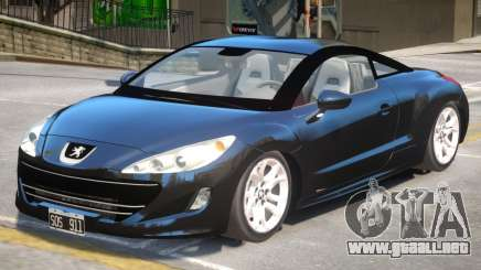 Peugeot RCZ V1.1 para GTA 4