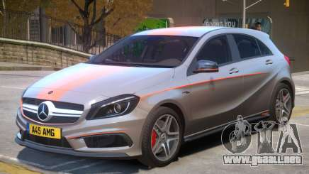 Mersedes Benz A45 V1 PJ7 para GTA 4