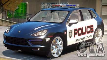 Porsche Cayenne Police para GTA 4