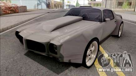 Pontiac Firebird 1970 Custom para GTA San Andreas