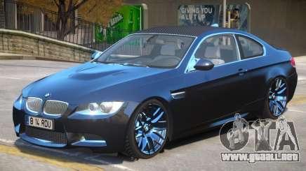 BMW M3 E92 V2 para GTA 4