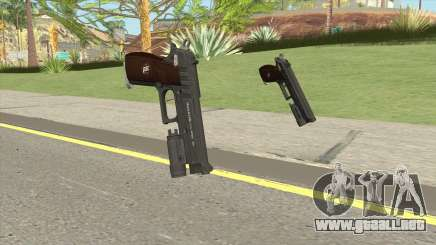 Hawk And Little Pistol GTA V Black (New Gen) V4 para GTA San Andreas