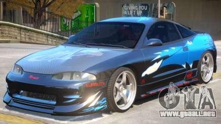1995 Mitsubishi Eclipse GSX para GTA 4