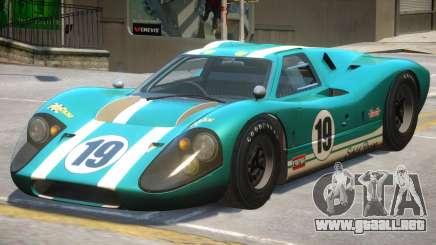 Ford GT40 PJ1 para GTA 4