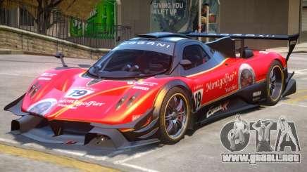 Pagani Zonda R PJ3 para GTA 4
