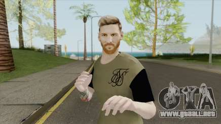 Lionel Messi HQ para GTA San Andreas