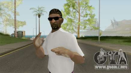 New Ballas1 Skin (LQ) para GTA San Andreas