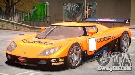 Koenigsegg CCGT V2 PJ3 para GTA 4