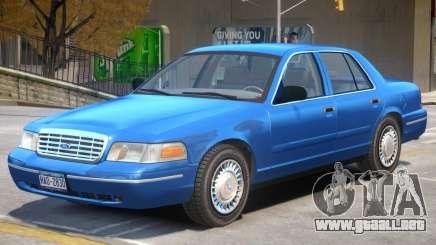 1998 Ford Crown Victoria V1 para GTA 4