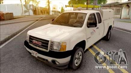 GMC Sierra 2009 Dillimore Telephone Company para GTA San Andreas