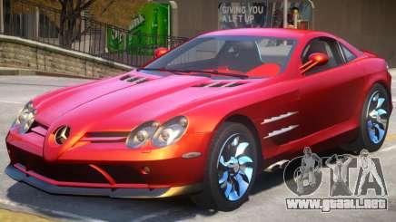 Mercedes Benz SLR V1.1 para GTA 4