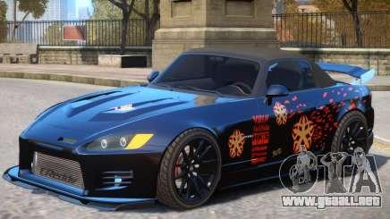 Honda S2000 V1 PJ para GTA 4