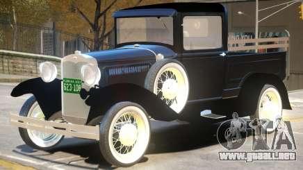 1930 Ford Model A V1 para GTA 4