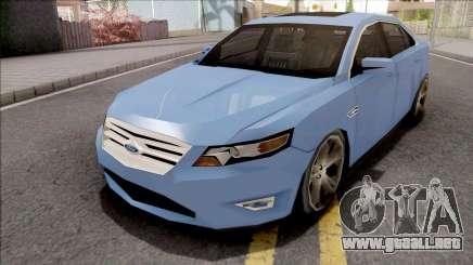 Ford Taurus 2011 Lowpoly para GTA San Andreas