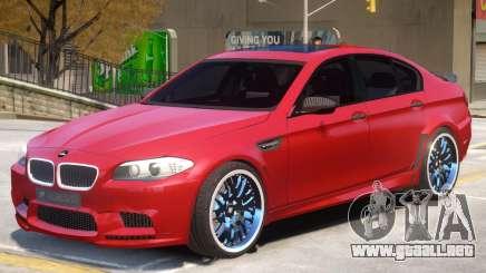 BMW M5 F10 R1 para GTA 4