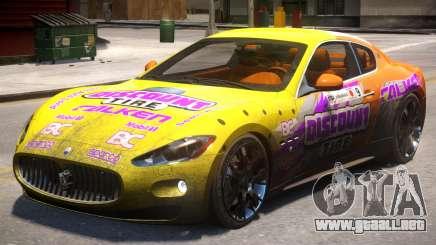 2012 Maserati Granturismo PJ1 para GTA 4