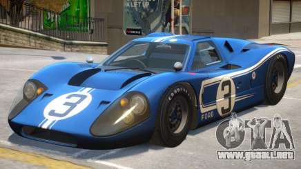 1967 Ford GT40 PJ2 para GTA 4