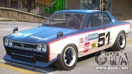 Nissan Skyline 2000 PJ2 para GTA 4