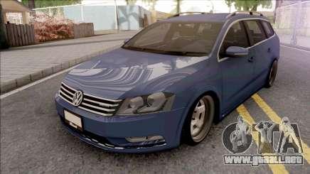 Volkswagen Passat B7 Alltrack para GTA San Andreas