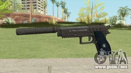 Hawk And Little Pistol GTA V (LSPD) V6 para GTA San Andreas
