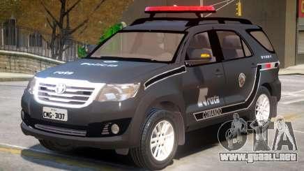 Toyota Hilux FIB para GTA 4
