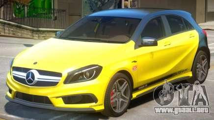 Mersedes Benz A45 PJ1 para GTA 4