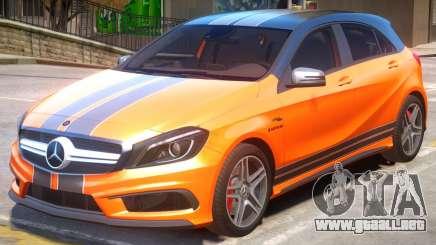 Mersedes-Benz AMG A45 PJ2 para GTA 4
