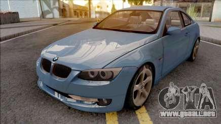 BMW E92 325i LCI 2010 para GTA San Andreas