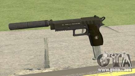 Hawk And Little Pistol GTA V (Green) V7 para GTA San Andreas