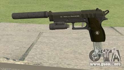 Hawk And Little Pistol GTA V (Green) V3 para GTA San Andreas