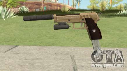 Hawk And Little Pistol GTA V (Army) V3 para GTA San Andreas