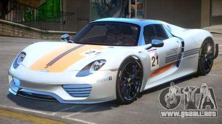 Porsche 918 Weissach para GTA 4