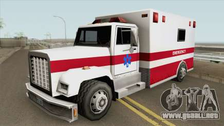 Brute Enforcer (Ambulance) para GTA San Andreas