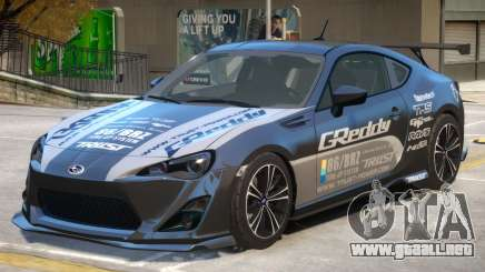 Subaru BRZ V1 PJ2 para GTA 4