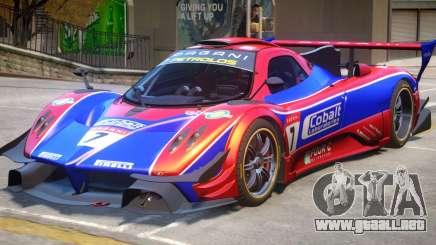 Pagani Zonda R PJ1 para GTA 4