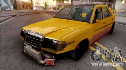 Mercedes-Benz W124 Custom Turbo para GTA San Andreas